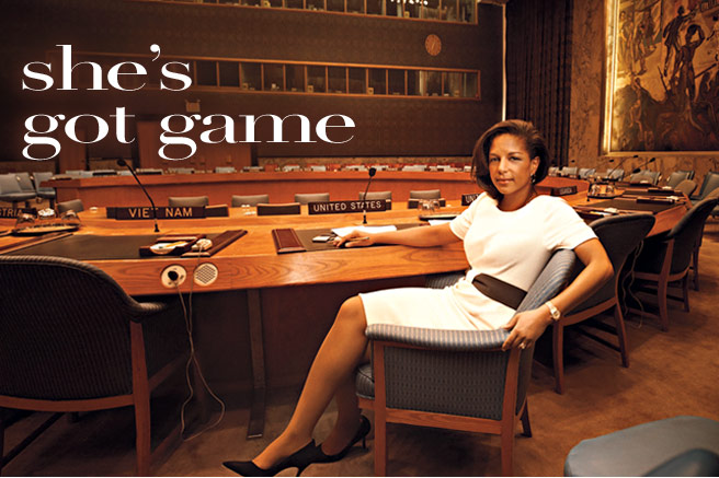 Susan Rice in Vogue