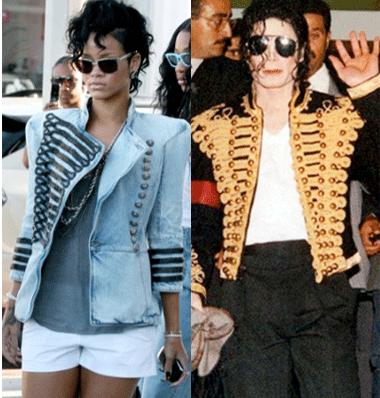 MJ rihanna jacket