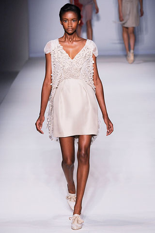 Walking for Alberto Ferretti (All photo credits: Style.com)