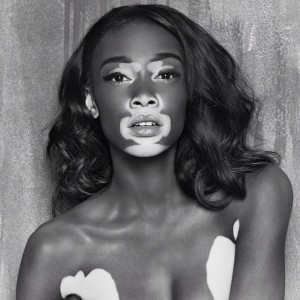 One of Chantelle Brown-Young's modelling shots. (photo via instagram)