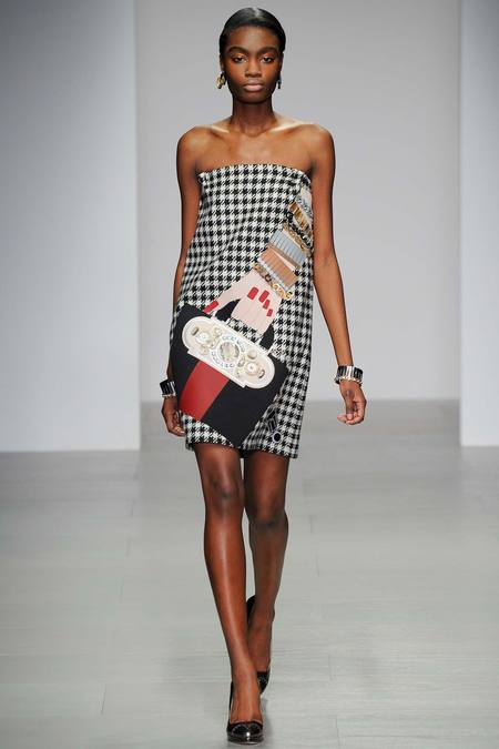 Canadian model Kayla Clarke, whose parents hail from the Caribbean, has walked for Holly Fulton and others.