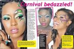Our Carnival makeup beauty spread, featuring the work of Lauren Austin of Enchanted Beauty by Lauren Austin!