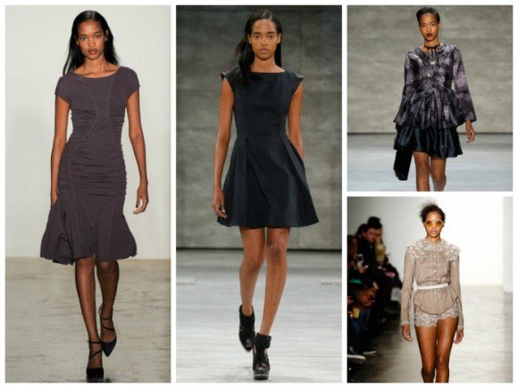 Marihenny Rivera Pasible appeared for a number of designers including Costello Tagliapietra.